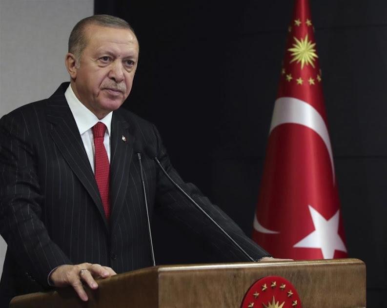 Ερντογάν: Δεν κάνουμε βήμα πίσω στην Ανατολική Μεσόγειο