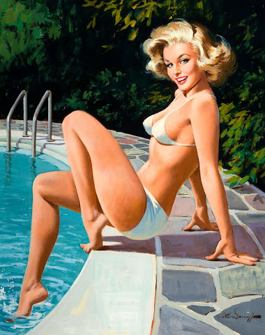 Pin Up Girls on the Beach – Part II