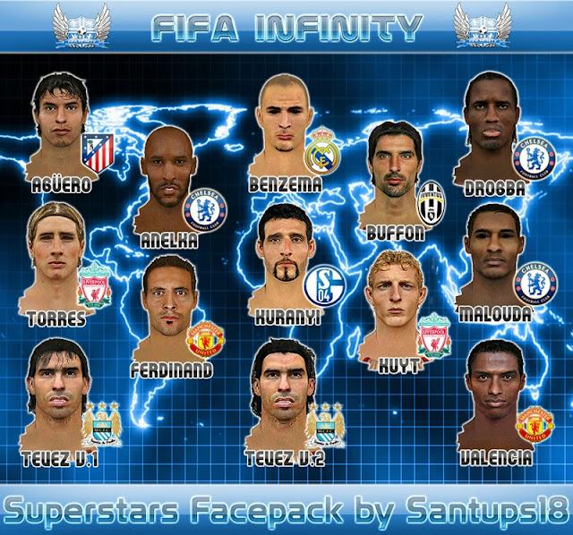 حصريا ستايلات النجوم لفيفا 2010 الاصدار الاول