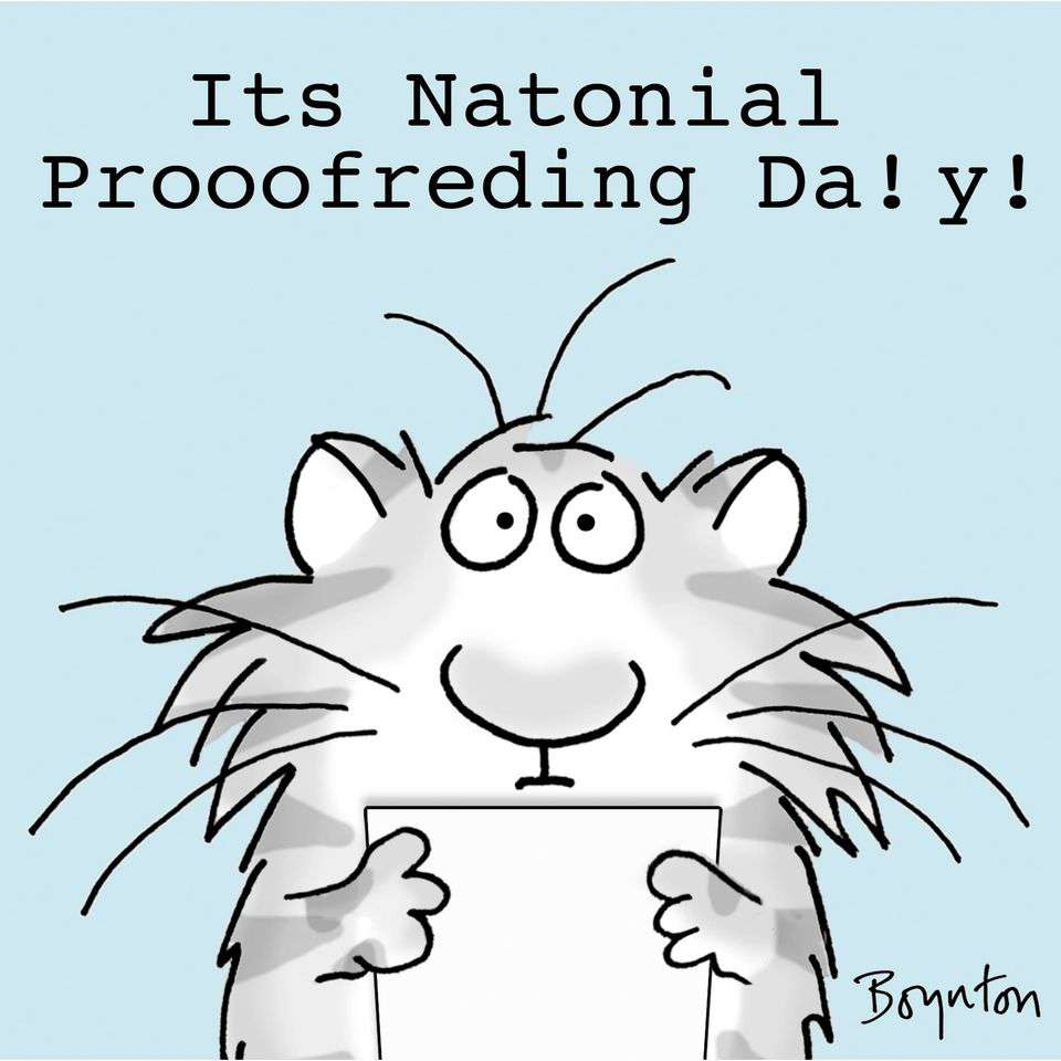 National Proofreading Day Wishes Pics