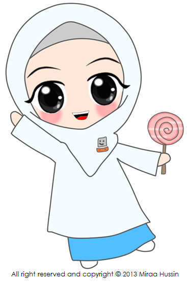 Freebies Doodle buda scola dan lollipop  Miraa Hussins