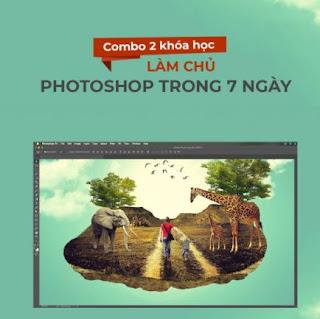 Bộ 2 khóa học làm chủ Photoshop trong 7 ngày ebook PDF EPUB AWZ3 PRC MOBI