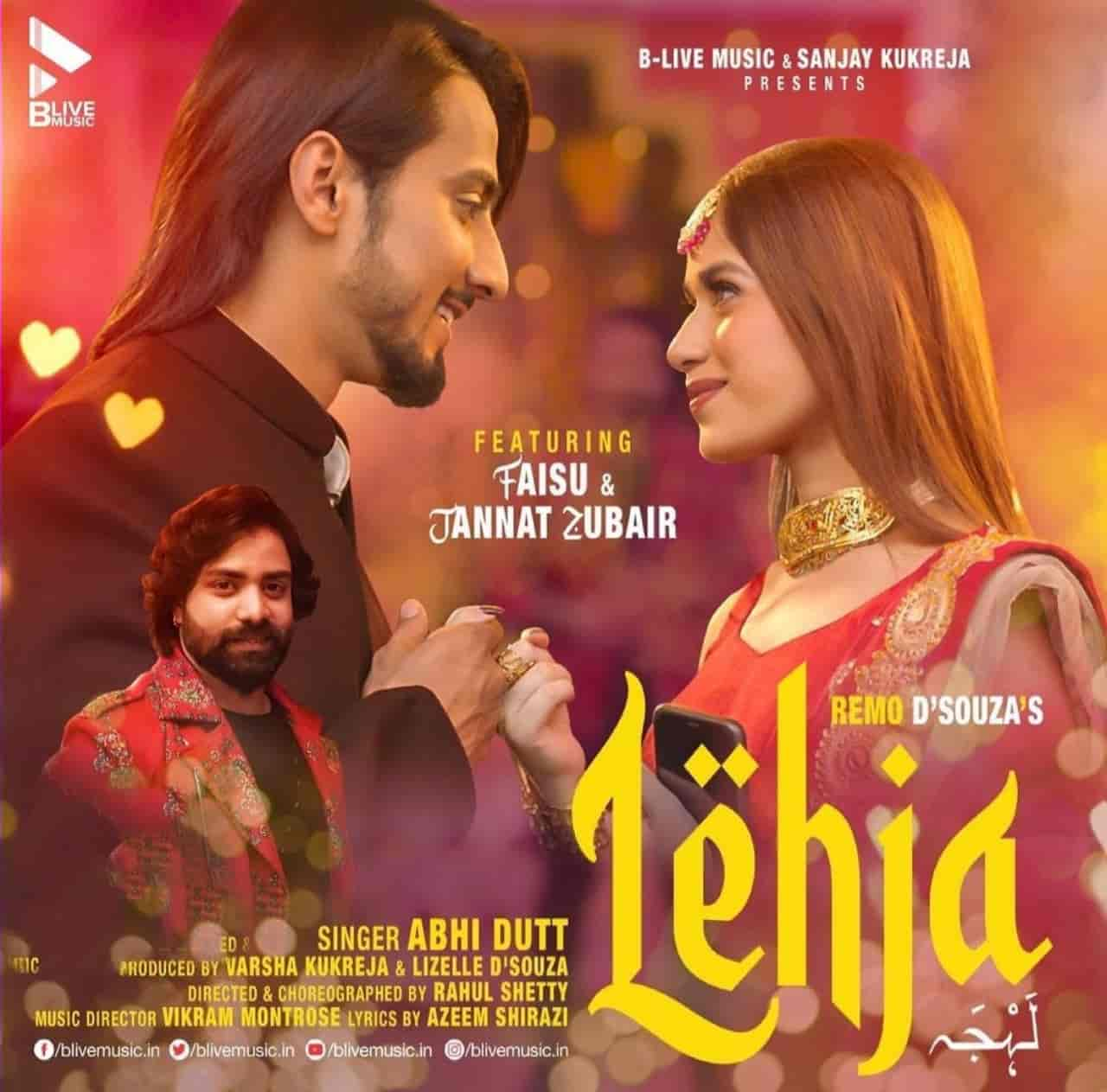 Lehja Hindi Song Image Jannat Zubair