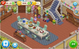 Free Download Matchington Mansion MOD APK  Matchington Mansion MOD APK 1.25 (Unlimited Coins+Lives) Terbaru For Android