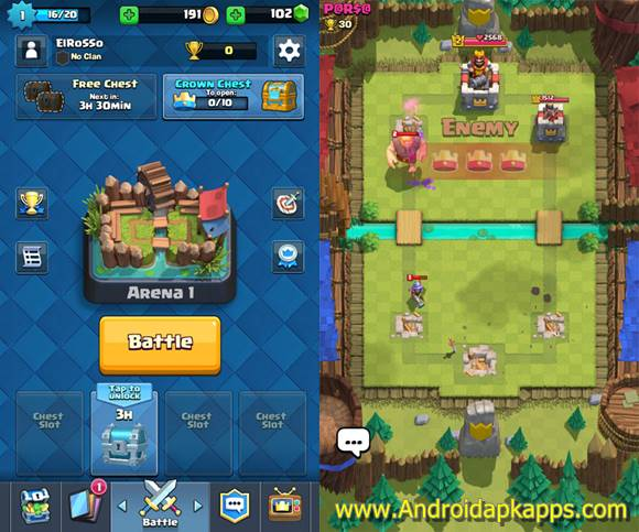 Download Clash Royale Apk MOD v1.1.1 Full OBB Data Android Latest ...