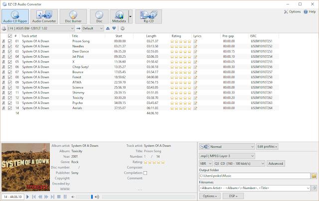 EZ CD Audio Converter Ultimate full descargar -