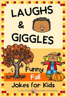 Fall themed Joke Book for Kids