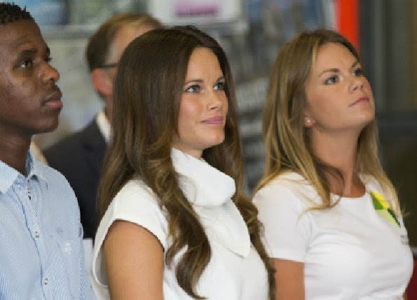 Princess Sofia Of Sweden Attended A Diploma Ceremony
