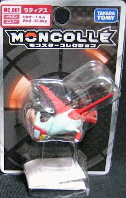 Latias figure Tomy Monster Collection MONCOLLE series