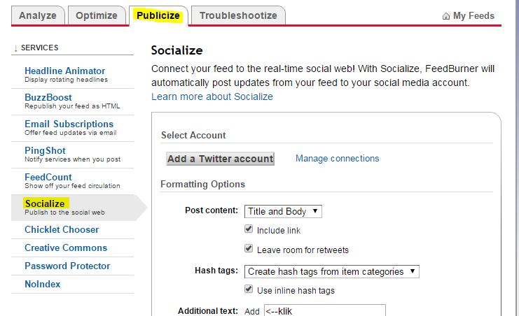 Cara Publish Artikel Blog Otomatis Ke Twitter Dengan Mudah
