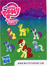 MLP Wave 6 Roseluck Blind Bag Card
