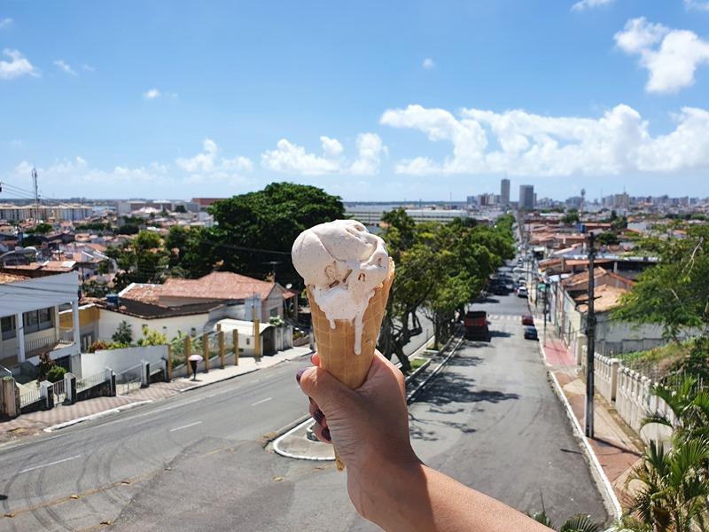 Colina do Santo Antonio, sorveteria Santo Antônio