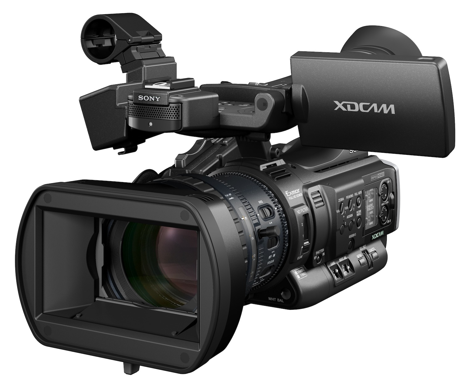 Sony PMW-200 XDCAM camcorderProfessional Video Camera Png