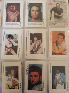Collection of Elvis Presley Jokers