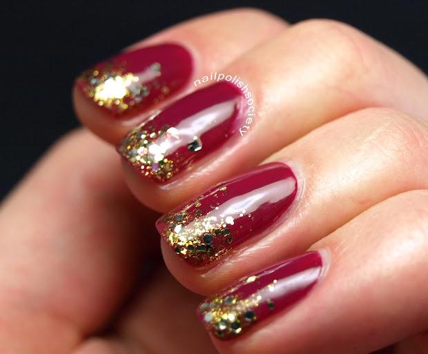 nail polish society berry holiday