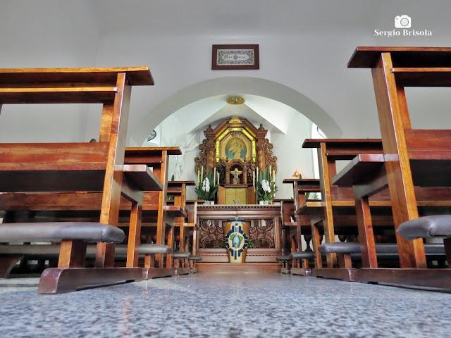 Vista do interior da Capela do Santuário Mãe e Rainha de Schoenstatt - Vila Clementino - São Paulo