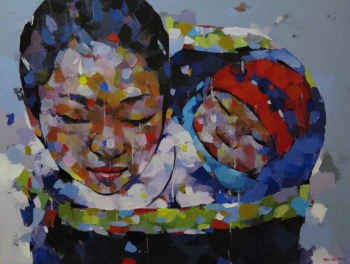 Вьетнамский художник. Van Chu