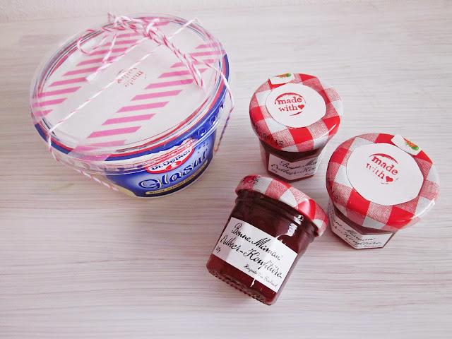 Zutaten für die Cakepop-Backbox