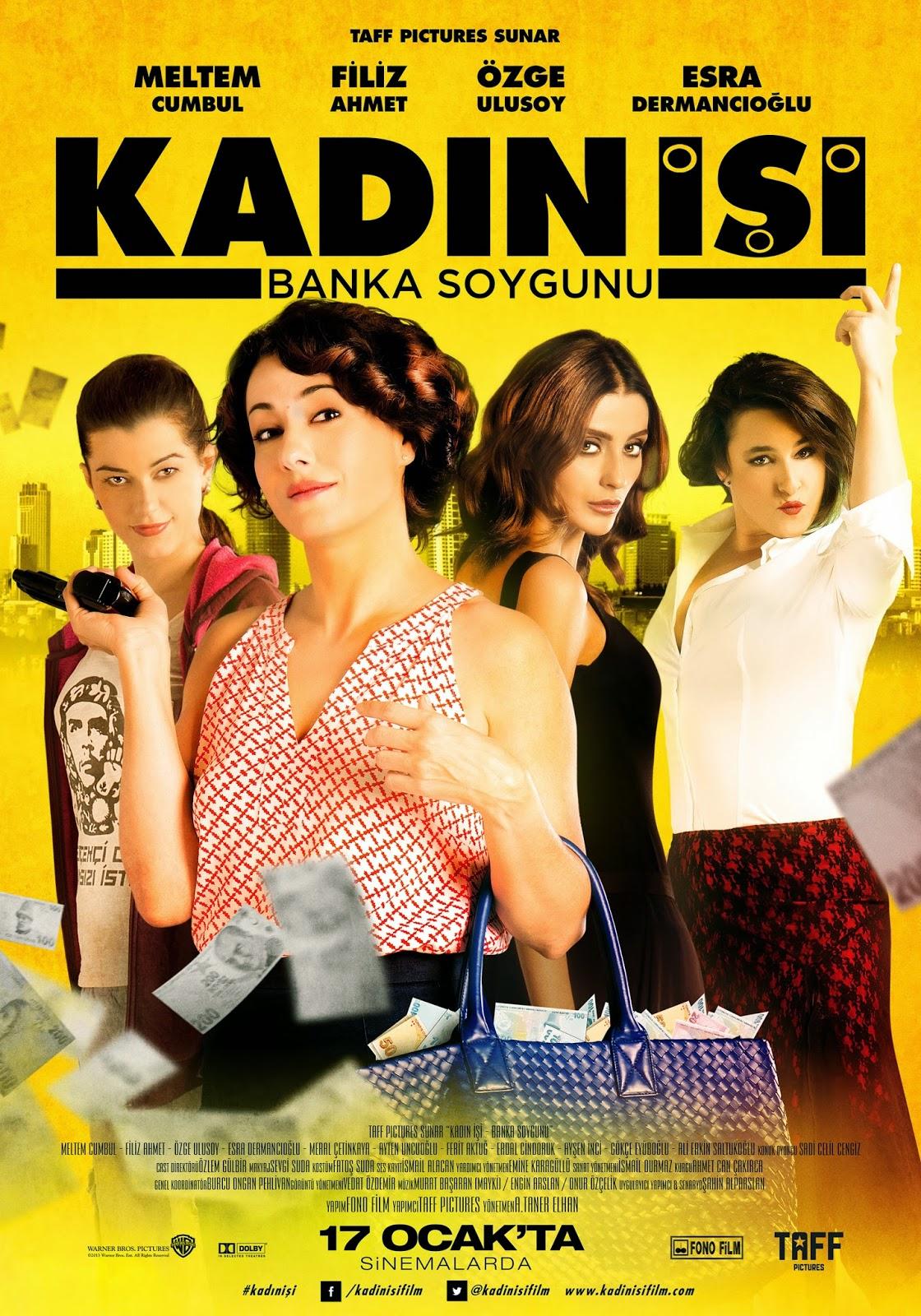 Kadin isi banka soygunu - Γυναικεία δουλειά: Ληστεία Τράπεζας (2014) ταινιες online seires xrysoi greek subs