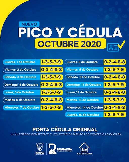 https://www.notasrosas.com/Alcaldía de Riohacha decreta en octubre, nuevas medidas restrictivas por la Covid-19