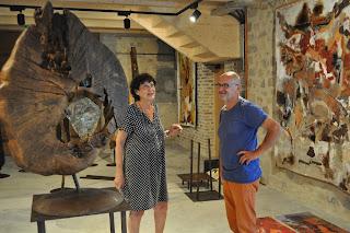 Evelyne DUBOUR et Bernard FROMENT ; du coeur à l'ouvrage.