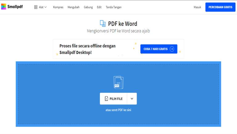 Cara Mudah Mengubah File PDF Ke Word Tanpa Aplikasi