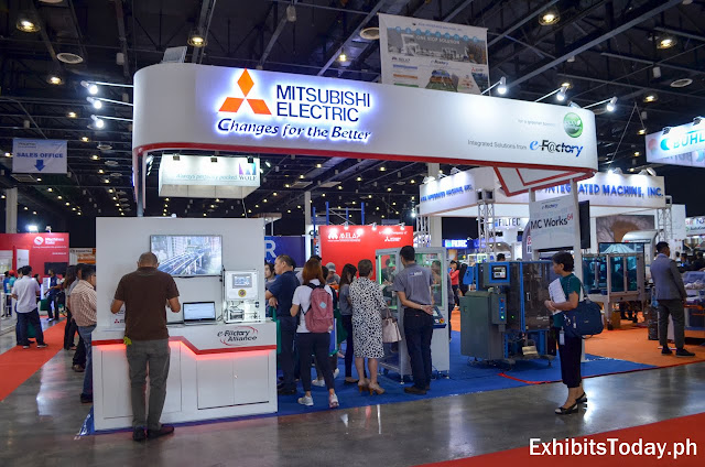 Mitsubishi Electric Exhibit Stand