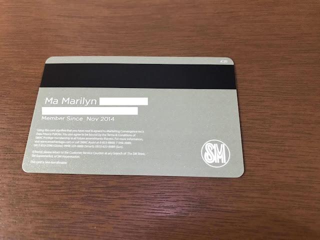 new sm advantage card