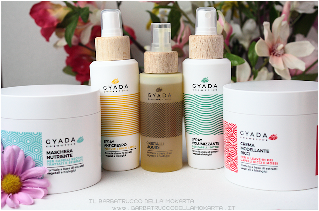 pareri gyada cosmetics, vegan bio, capelli hair routine