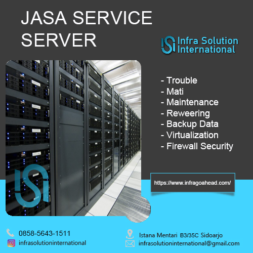 Jasa Service Server Papua