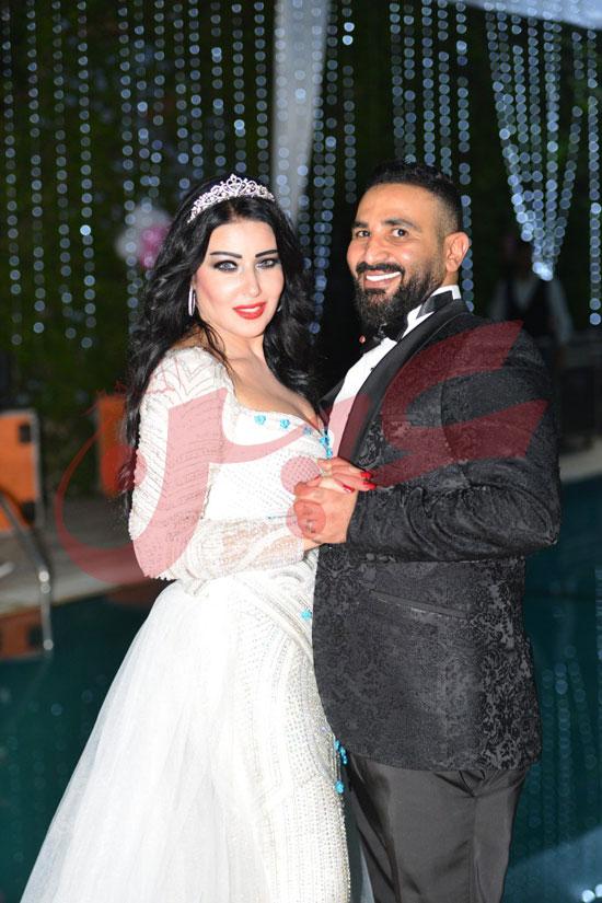 بالصور : الالبوم الكامل لحفل زواج سمية الخشاب و احمد سعد (30 صورة)