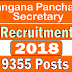 Apply Online for Telangana Panchayat Secretary 2018 recruitment  (9355 Vacancies)