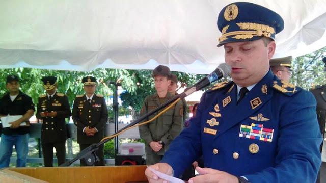 El Jefe de Logística de la Defensa Aeroespacial de Venezuela también se rebeló contra el régimen de Nicolás Maduro