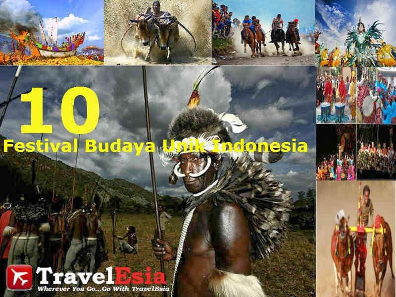 festival budaya unik indonesia