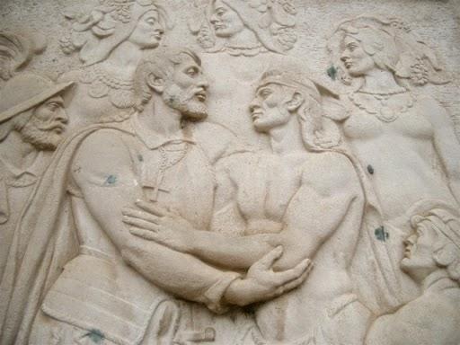 escultura piedra domingo irala uruguay asunción