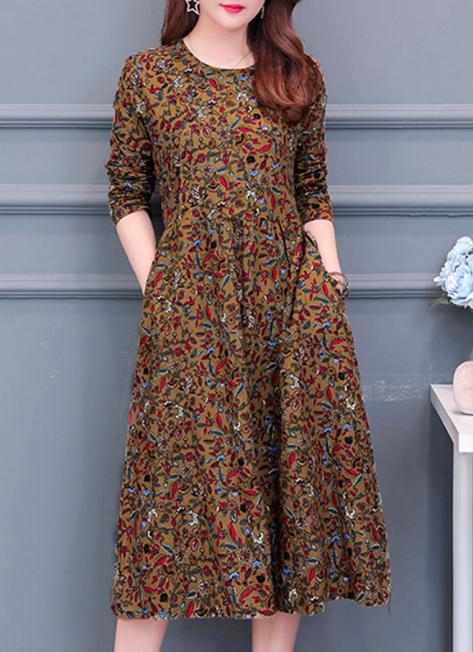 boho maxi dress for girls for fall