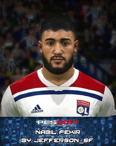 Nabil Fekir Face For PES 2017