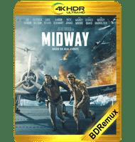 MIDWAY: ATAQUE EN ALTAMAR (2019) BDREMUX 2160P HDR MKV ESPAÑOL LATINO