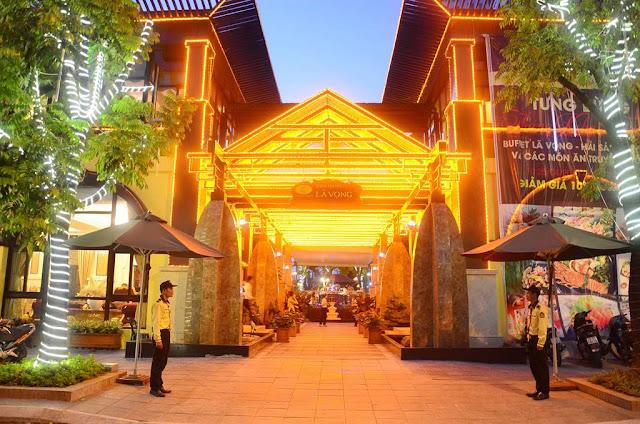 Không gian nhà hàng cao cấp của tập đoàn Lã Vọng