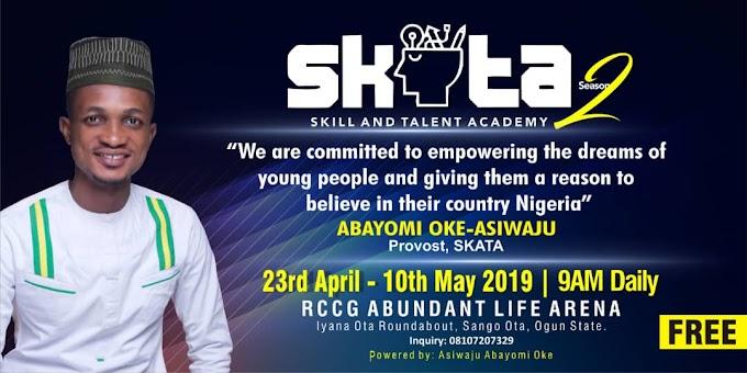 Event:  SKATA Season 2 in Ota - Asiwaju