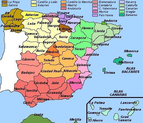 Mapa Interactivo Islas Baleares.Mapa Interactivo De Europa