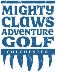 Mighty Claws Adventure Golf  opening at Playgolf Colchester in April 2018