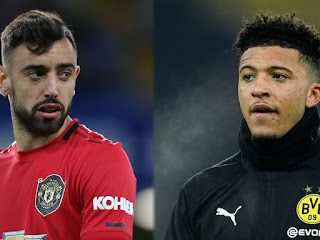 Bruno Fernandes clauses could deny Jadon Sancho dream move to manchester united