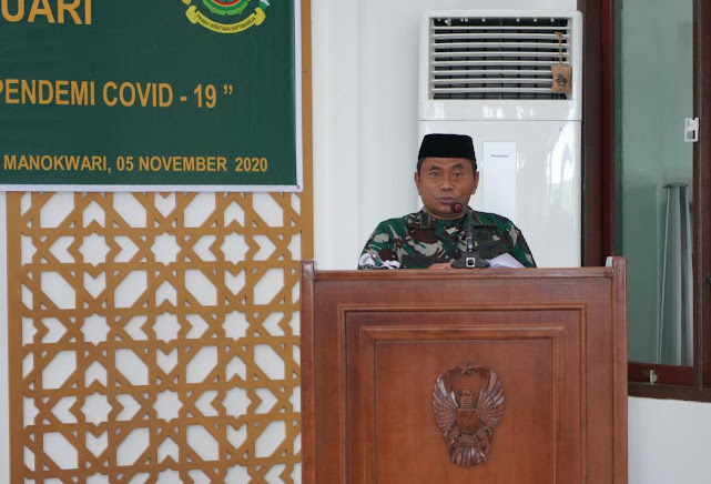 Warga Kodam XVIII/Kasuari Peringati Maulid Nabi Muhammad SAW 1442 H/ 2020 M