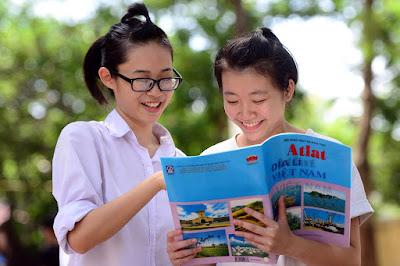 Hình ảnh trong Atlat địa lý Việt Nam