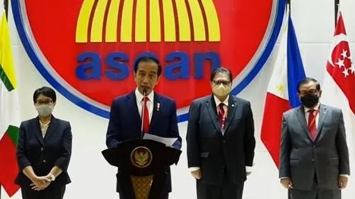 Di KTT ASEAN, Jokowi Minta Militer Myanmar Hentikan Kekerasan
