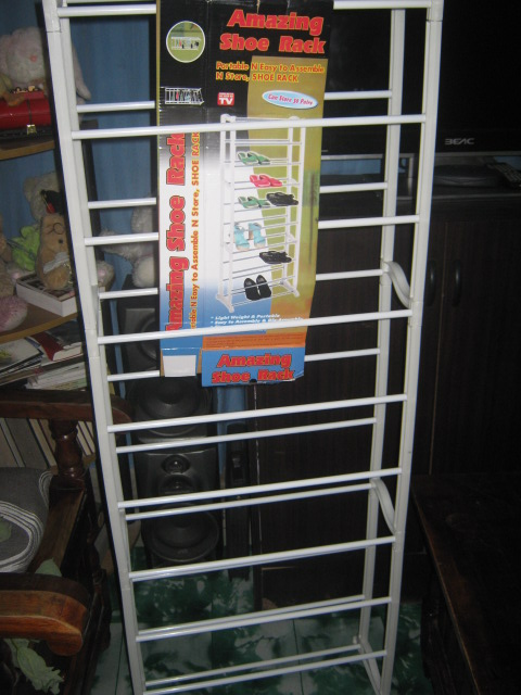 Prettythrifty The Amazing Shoe Rack