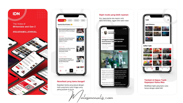 Downloud Aplikasi IDN App, Aplikasi Berita Terlengkap 2020