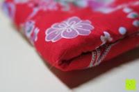 Kissen Lagen: Japanische Maneki Neko Glückskatze aus Porzellan (Klein, 12 cm)