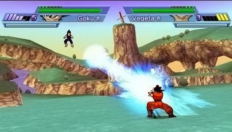 Dragon Ball Z Shin Budokai PSP